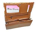 Женский кошелек из натуральной кожи Mario Veronni (10x19.5) , фото 5