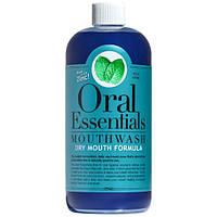 Oral Essentials, Средство для полоскания, формула сухого рта с цинком, 16 унций (473 мл)