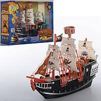 Пиратский корабль M 0512 U/R, 26см, в кор-ке, 29-23-10см
