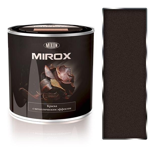 Краска с металлическим эффектом 3 в 1. Mirox-8028. 2,25 л