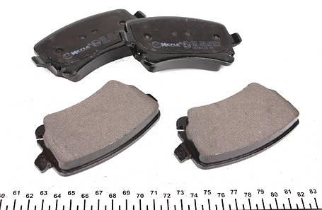 Колодки тормозные задние VW T5 03- Lucas, Германия MEYLE, фото 2