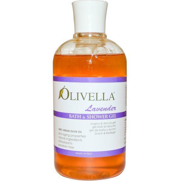 Olivella, Bath & Shower Gel, Lavender, 16.9 fl oz (500 ml)