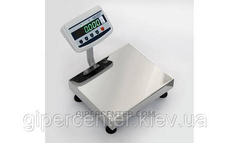 Весы товарные Техноваги ТВ1-30-5-(400х400)-S-12ер до 30 кг, со стойкой, фото 2
