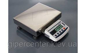 Весы товарные Техноваги ТВ1-60-5-(400х400)-S-12ер до 60 кг, со стойкой, фото 3