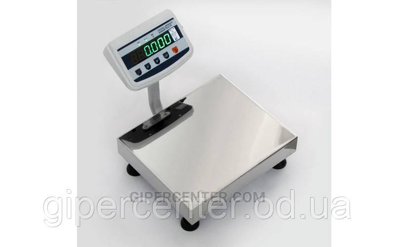 Весы товарные Техноваги ТВ1-30-5-(400х550)-S-2ер до 30 кг, со стойкой