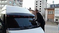 Козырек лобового стекла Форд Транзит 2001-2014