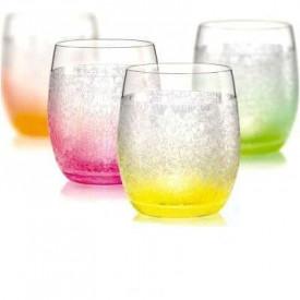 Набор стаканов (4 шт/300 мл.) BOHEMIA Neon Ice 7523B