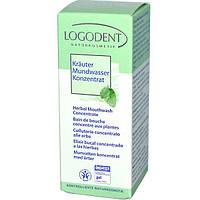 Logona Naturkosmetik, Logodent, Herbal Mouthwash Concentrate, 1.7 fl oz (50 ml)