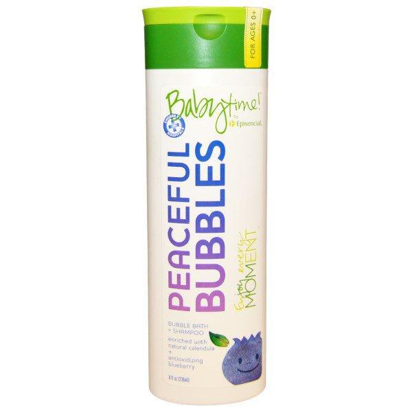 Episencial, Peaceful Bubbles, Все в Одном Пена для Ванн 8 жидких унции (236 мл)