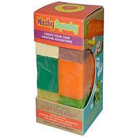 Sunfeather Soaps, WashySquashy, Sculpting Soap for Kids!, 6 x 1.5 oz (42.6 g) Each