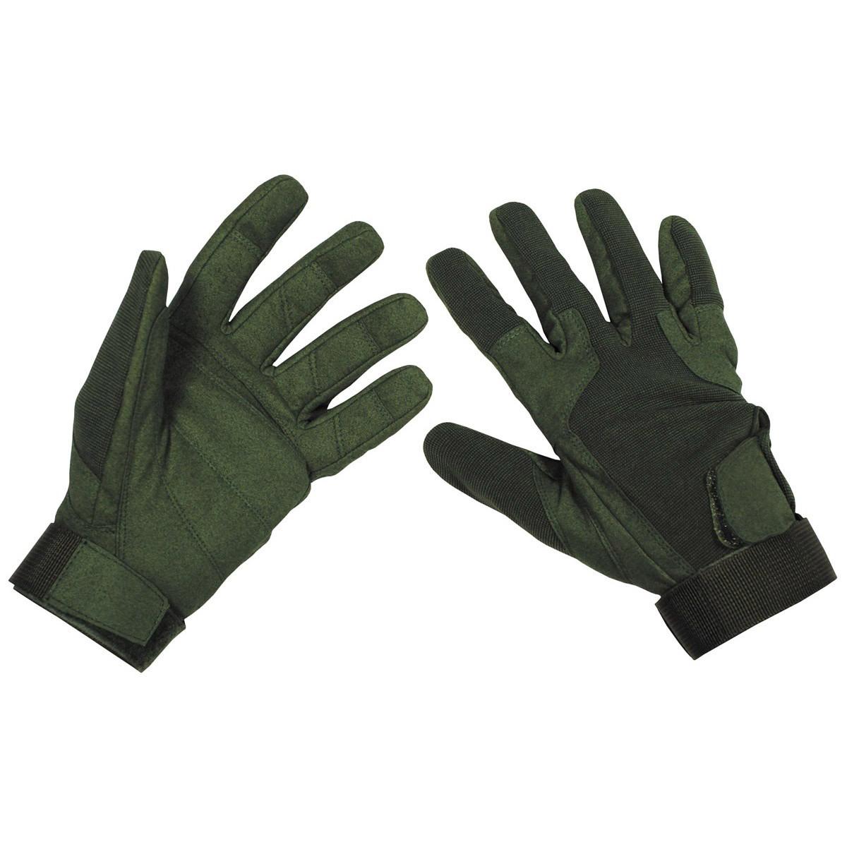 Перчатки MFH Stripes Olive 15813B