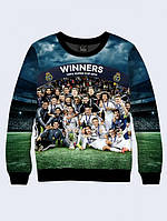 СВИТШОТ REAL TEAM; XXS, XS, S, M, L, XL, фото 1