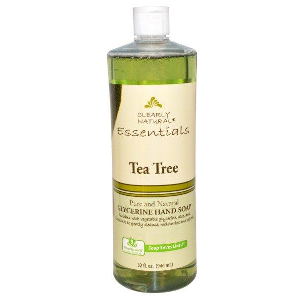Clearly Natural, Glycerine Hand Soap, Tea Tree, 32 fl oz (946 ml)
