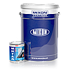 Грунт-краска по металлу Mixon Митал. Коричневая полуматовая (RAL8016). 25 кг