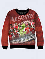 СВИТШОТ ARSENAL TEAM; XXS, XS, S, M, L, XL, фото 1