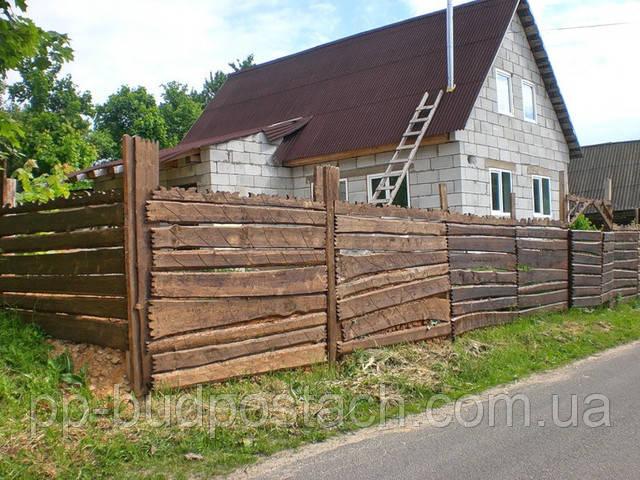 Заборы для дачи строим своими руками