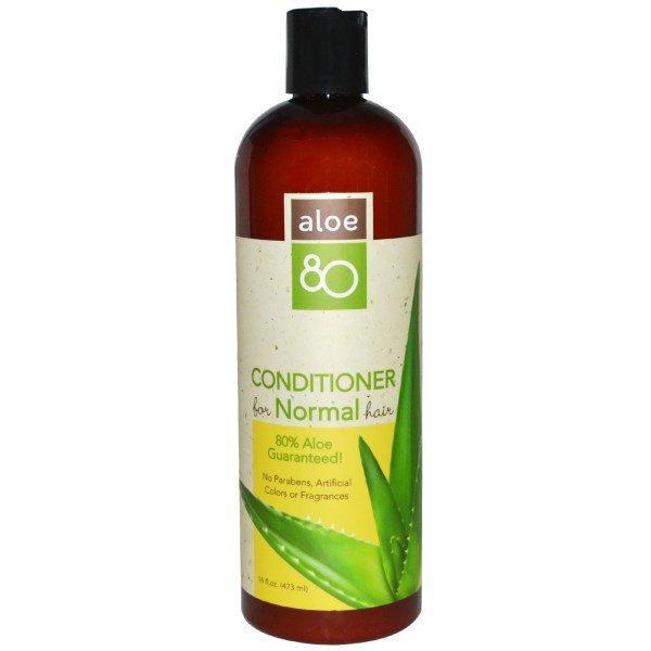 Lily of the Desert, Алоэ 80, кондиционер для нормальных волос, 16 жидких унций (473 мл)
