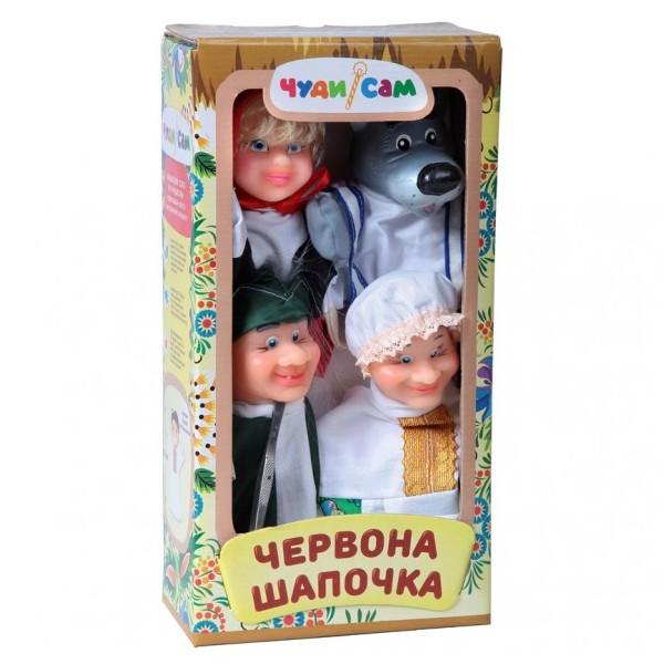 Кукольный театр Красная шапочка (4 персонажа)