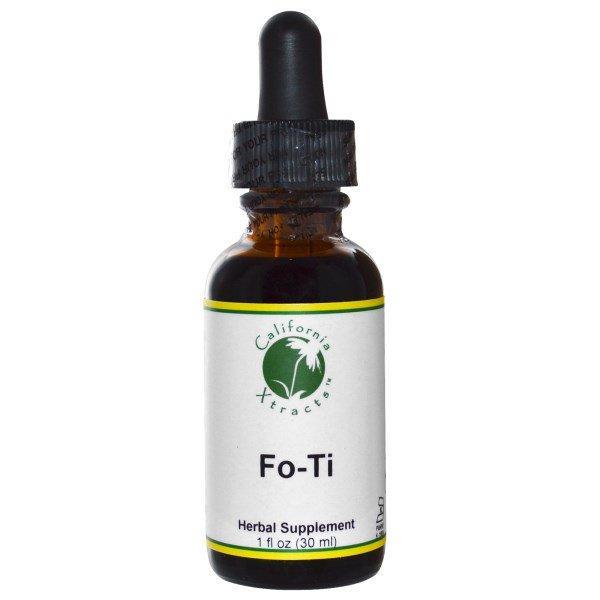 California Xtracts, Fo-Ti, 1 fl oz (30 ml)