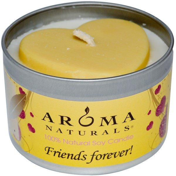 Aroma Naturals, 100% Natural Soy Candle, Friends Forever!, 6.5 oz