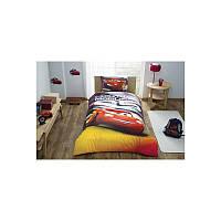 Комплект постельного белья для мальчика TAC Cars Lightning Mcqueen, ранфорс