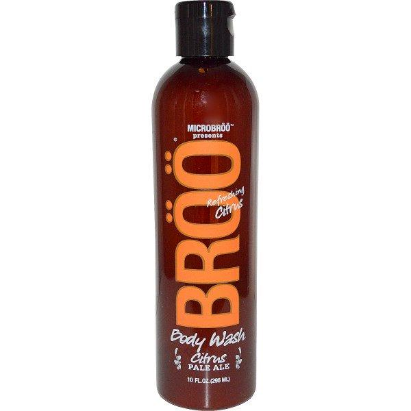 BRoo, MicroBroo Presents, Body Wash, Pale Ale, Refreshing Citrus, 10 fl oz (296 ml)