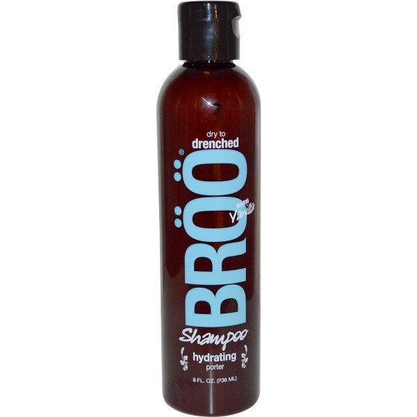 BRoo, Shampoo, Dry to Drenched, Hydrating Porter, Warm Vanilla, 8 fl oz (236 ml)