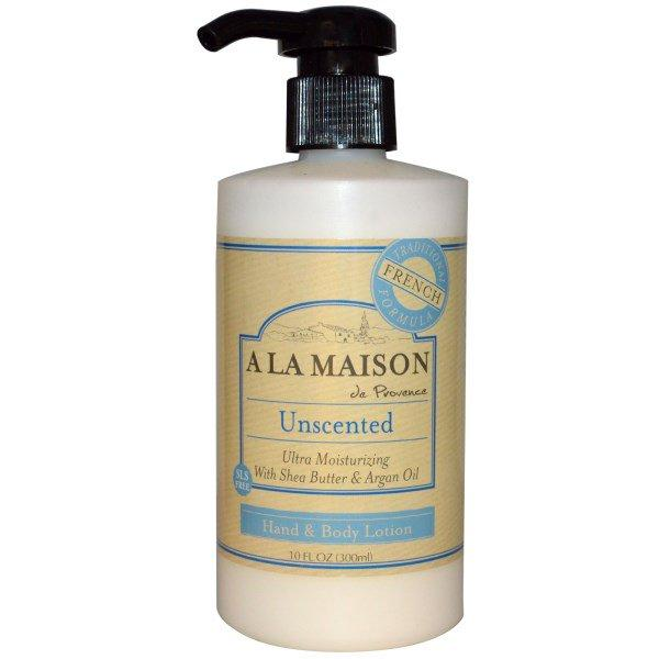 A La Maison de Provence, Hand & Body Lotion, Unscented, 10 fl oz (300 ml)