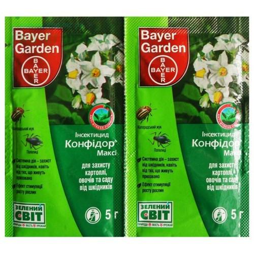 """Инсектицид Конфидор Макси 5 г """"Bayer"""" (лучшая цена оптом и в розницу)"""