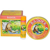 Badger Company, Набор бальзамов Cheerful Mind Balm Kit, Aromatherapy Kit to Cheer & Uplift, набор из 2 бальзамов