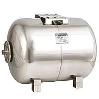 Гидроаккумулятор Насосы плюс оборудование HT 100SS горизонтальный из нержавеющей стали