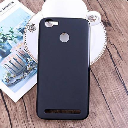 Силиконовый чехол для Homtom HT50 черный, фото 2