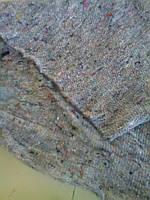 Нетканое полотно ХБ (серое, пл. 180 г/м2) ш. 140 см. д. 70 м.