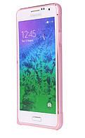 Bumper Creative Samsung G360 pink metal