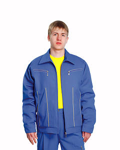 Униформа для персонала синий костюм для мужчин