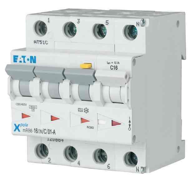 Диференційний автоматичний вимикач mRB4-20/3N/D/003-A (120683) Eaton
