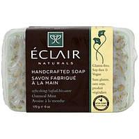 Eclair Naturals, Мыло ручной работы, овсянка и мята, 6 уний (170 г)