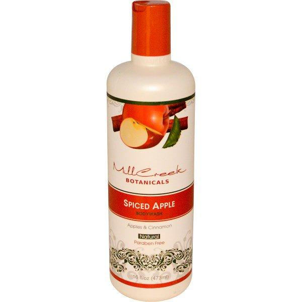 Mill Creek, Spiced Apple Body Wash, Apples & Cinnamon, 16 fl oz (473 ml)