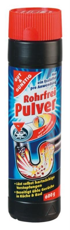 Гранулы для чистки труб G&G Rohrfrei Pulver, 0.600 г (Германия)
