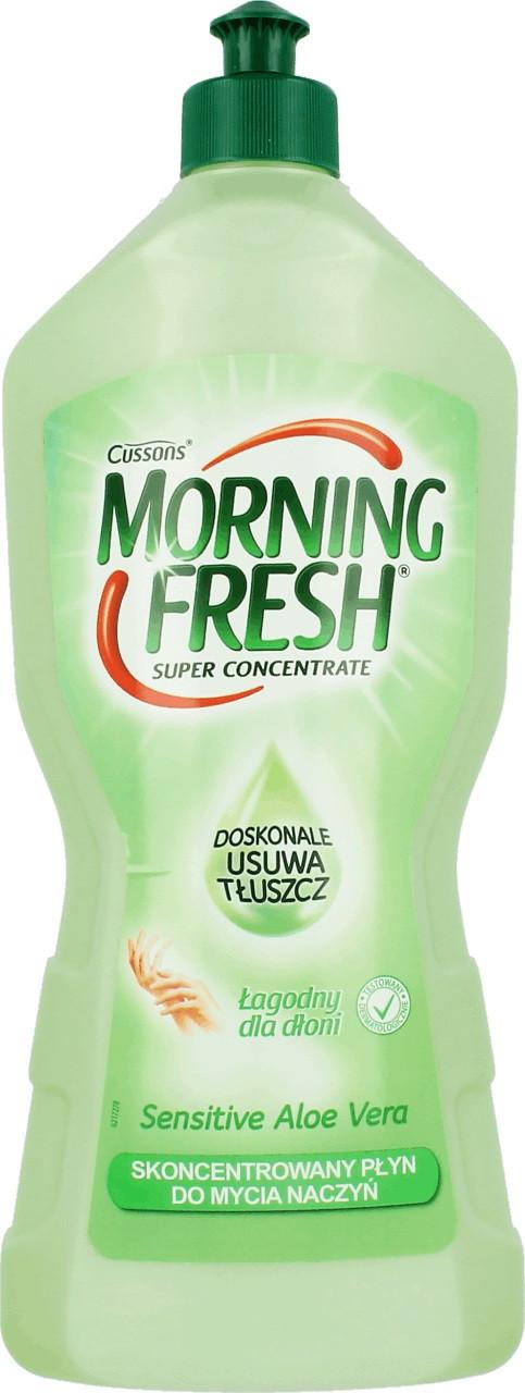 Жидкость для мытья посуды Morning Fresh алое вера, 900 мл (Польша)