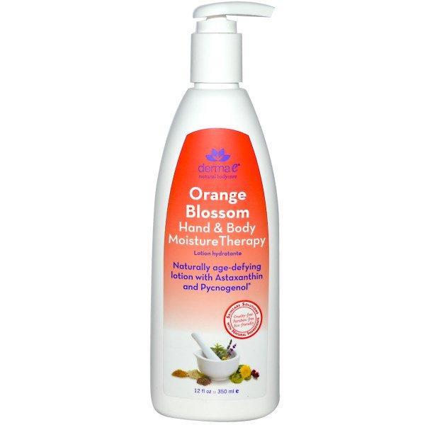 Derma E, Hand & Body Moisture Therapy, Orange Blossom, 12 fl oz (350 ml)