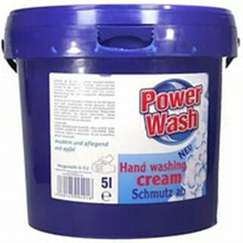Специализированная паста для мытья рук Power Wash Hand Washing Cream, 5 л (Германия)