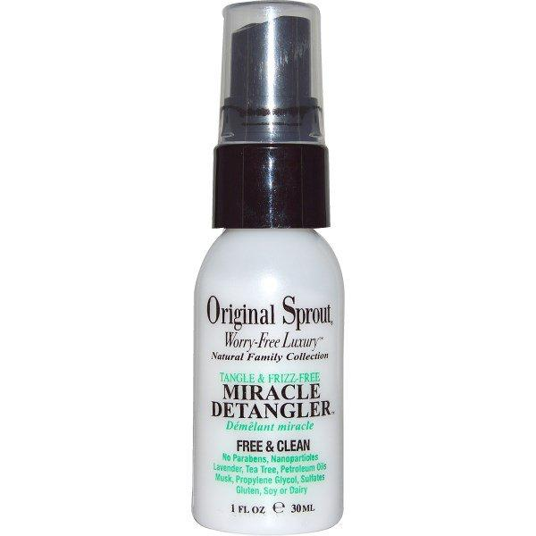 Original Sprout Inc, Tangle & Frizz-Free, Miracle Detangler, 1 fl oz (30 ml)