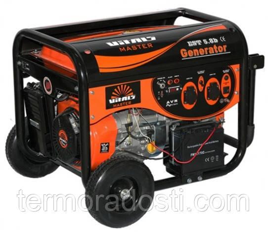 Бензиновый генератор Vitals Master EST 5.8b