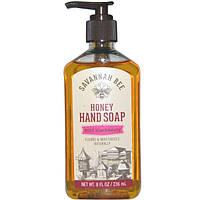 Savannah Bee Company Inc, Honey Hand Soap, Wild Blackberry, 8 fl oz (236 ml)