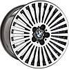 Литые диски KH KH-851 R18 W9.5 PCD5x120 ET14 DIA72.6 (silver)
