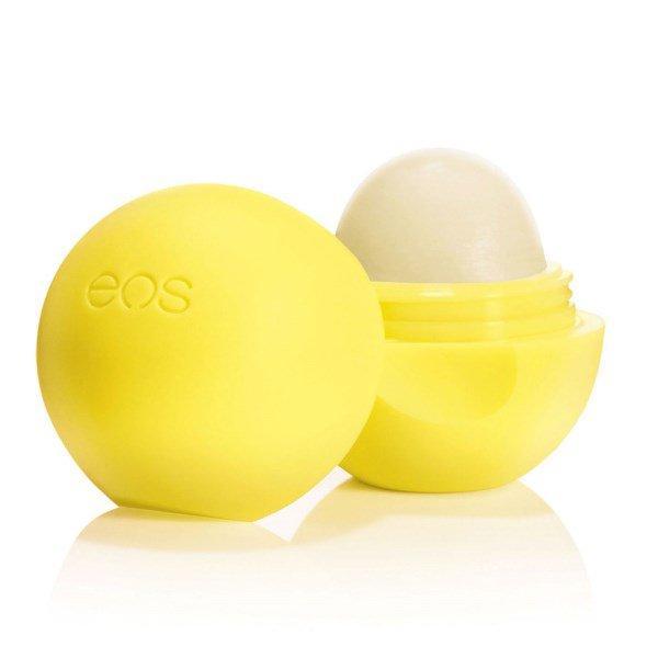 EOS, Бальзам для губ с фотозащитным эффектом 15, капля лимона, .25 унции(7 г)