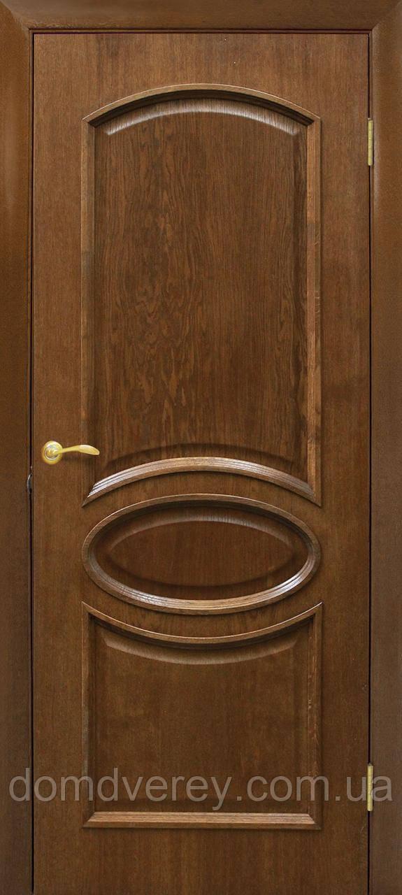 Двери Омис модель Лаура ПГ цвет орех