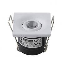 Точечный светильник LAURA 1W 4200K HOROZ ELECTRIC