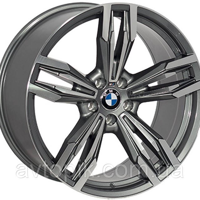 Литые диски Replica BMW (B502) R21 W10 PCD5x120 ET40 DIA74.1 (BKF)